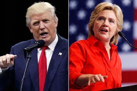 Ong Trump nhai canh loang choang cua ba Clinton - Anh 1