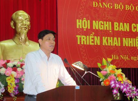 Dang bo Bo GTVT day manh cong tac xay dung Dang - Anh 1