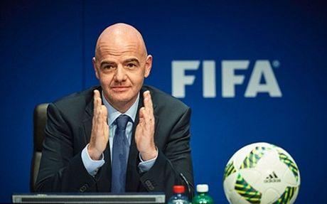 Chu tich FIFA du tinh nang so doi du World Cup len 48 - Anh 1