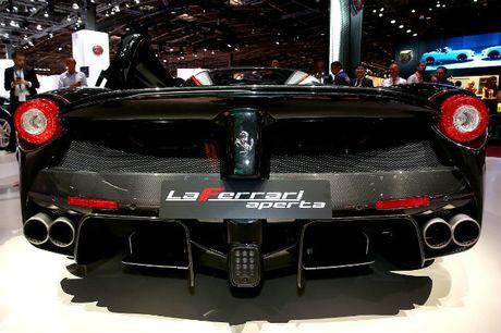 Sieu xe Ferrari LaFerrari Aperta gia 58,4 ty dong chay hang - Anh 15