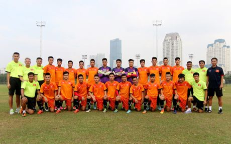 U19 Viet Nam chot danh sach 22 cau thu du VCK U19 chau A 2016 - Anh 1