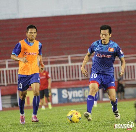 Thay tro Huu Thang luyen bai tu truoc tran gap Trieu Tien - Anh 5