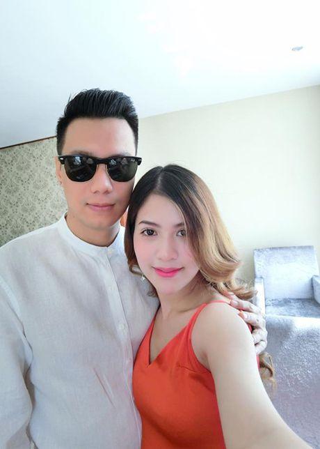 Vo dien vien Viet Anh hanh phuc khoe bung bau lum lum - Anh 2