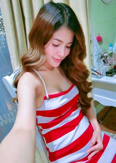 Vo dien vien Viet Anh hanh phuc khoe bung bau lum lum - Anh 4