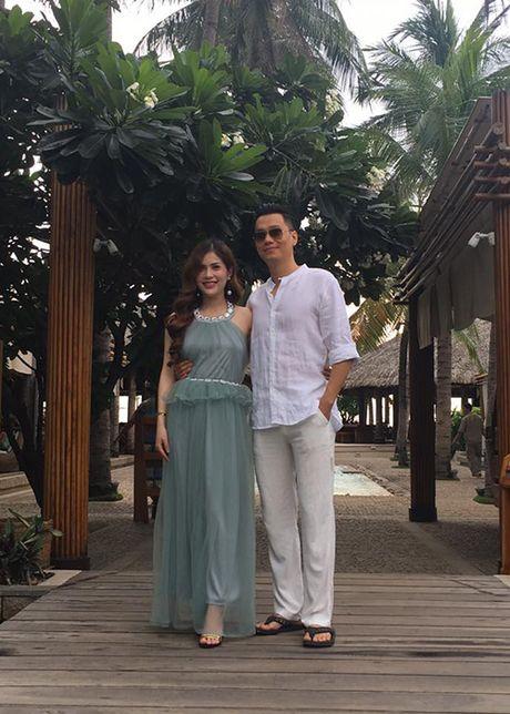 Vo dien vien Viet Anh hanh phuc khoe bung bau lum lum - Anh 6
