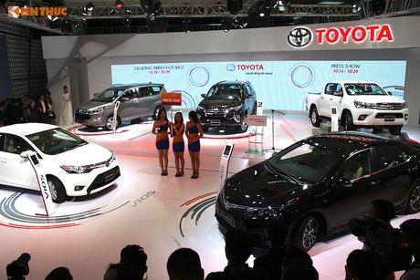 'Soi' 6 mau xe moi cua Toyota Viet Nam tai VMS 2016 - Anh 1