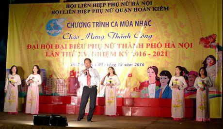 Chuong trinh nghe thuat chao mung thanh cong Dai hoi dai bieu phu nu thanh pho - Anh 1