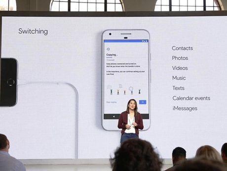 Google ho tro chuyen toan bo du lieu iOS sang Pixel - Anh 1