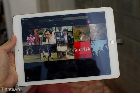Dung thu Sandisk iXpand: trao doi noi dung de dang hon giua iDevice va cac may khac - Anh 2
