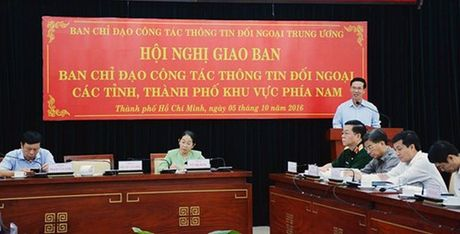 Tang cuong chi dao, kiem tra, giam sat thuc hien hoat dong thong tin doi ngoai - Anh 1