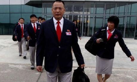 Doi CHDCND Trieu Tien den Viet Nam - Anh 1