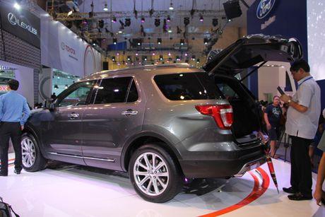 Ra mat Ford Explore 2017 hoan toan moi gia 2,18 ty tai trien lam VMS 2016 - Anh 1