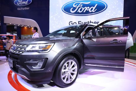 Ra mat Ford Explore 2017 hoan toan moi gia 2,18 ty tai trien lam VMS 2016 - Anh 2