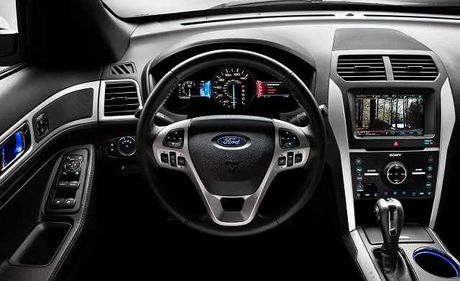 Ra mat Ford Explore 2017 hoan toan moi gia 2,18 ty tai trien lam VMS 2016 - Anh 4