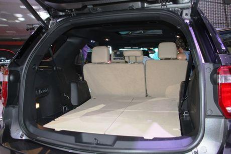 Ra mat Ford Explore 2017 hoan toan moi gia 2,18 ty tai trien lam VMS 2016 - Anh 7