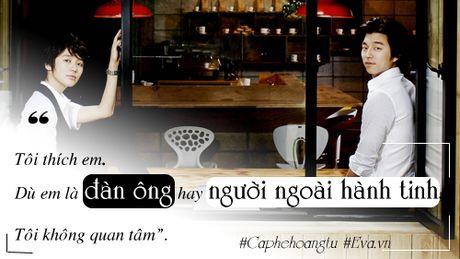 """Gong Yoo: Chang """"Hoang tu ca phe"""" tro thanh nguoi dan ong van nguoi me - Anh 1"""