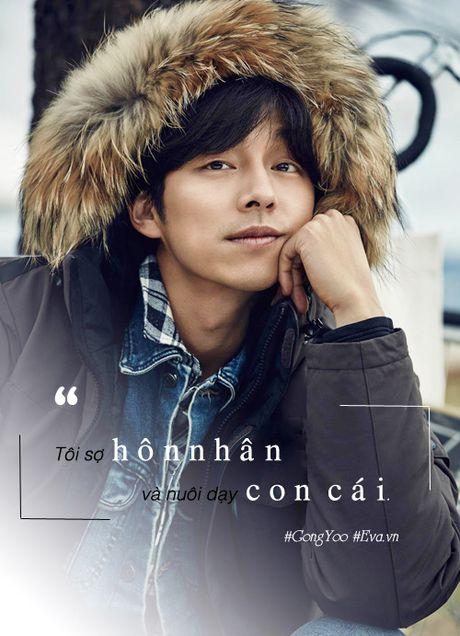"""Gong Yoo: Chang """"Hoang tu ca phe"""" tro thanh nguoi dan ong van nguoi me - Anh 5"""