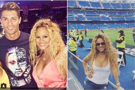 Ban gai cu Mayweather dinh nghi van qua lai voi Ronaldo - Anh 2