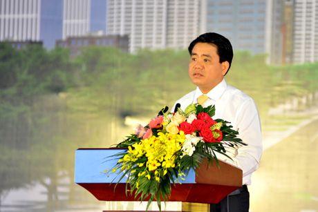 Khoi cong du an mo rong duong Vanh dai 3 doan Mai Dich – cau Thang Long - Anh 2