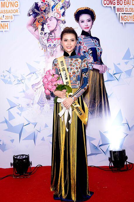 Ngoc Duyen len duong tham du 'Miss global beauty queen 2016' - Anh 1