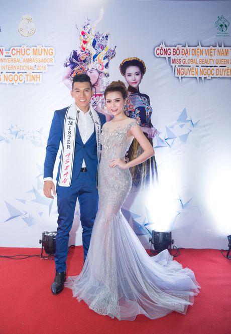 Ngoc Duyen len duong tham du 'Miss global beauty queen 2016' - Anh 3