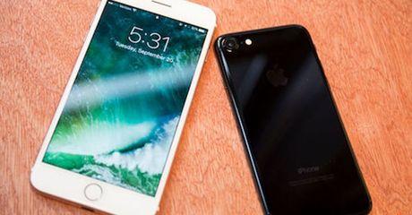 iPhone 7 bi to mat song - Anh 1