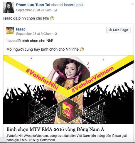 My Tam, Ha Ho keu goi binh chon cho Dong Nhi tai giai thuong MTV chau Au - Anh 3