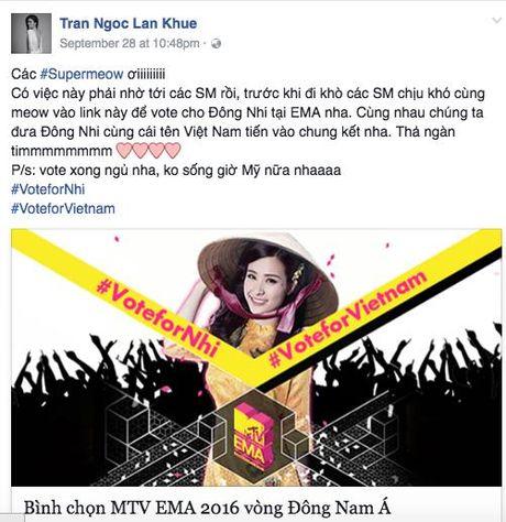My Tam, Ha Ho keu goi binh chon cho Dong Nhi tai giai thuong MTV chau Au - Anh 4