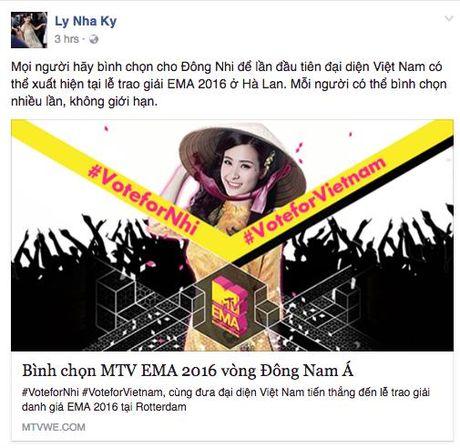 My Tam, Ha Ho keu goi binh chon cho Dong Nhi tai giai thuong MTV chau Au - Anh 5