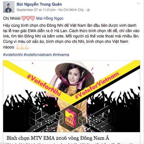 My Tam, Ha Ho keu goi binh chon cho Dong Nhi tai giai thuong MTV chau Au - Anh 6