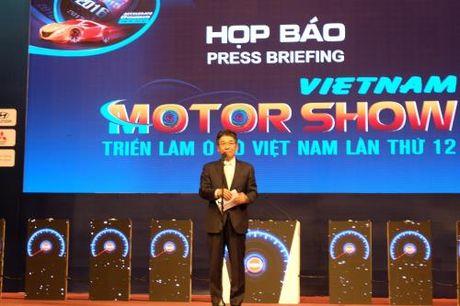 Khoi dong trien lam Vietnam Motor Show 2016 - Anh 2