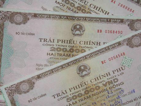 Lai tang phat hanh 3.100 ty dong trai phieu chinh phu - Anh 1