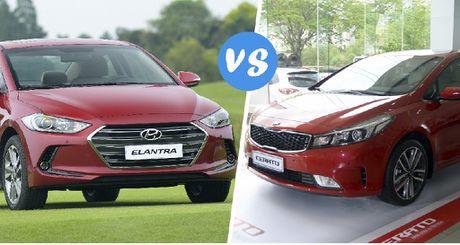 Hyundai Elantra va Kia Cerato: Cuoc dua giua nhung 'ke bam duoi' - Anh 1