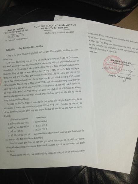 Hoi am: 'Vu mot lao dong VN tu vong tai Saudi Arabia': Doanh nghiep boi thuong 350 trieu dong - Anh 1