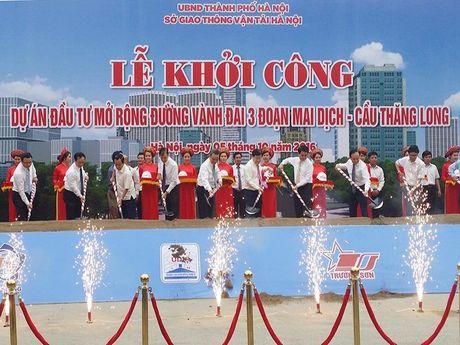 Hon 3.000 ti mo rong duong Mai Dich - cau Thang Long - Anh 1