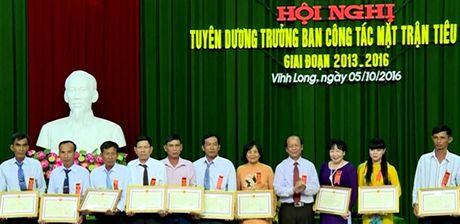 Vinh Long: Tuyen duong Truong ban Cong tac Mat tran tieu bieu - Anh 1