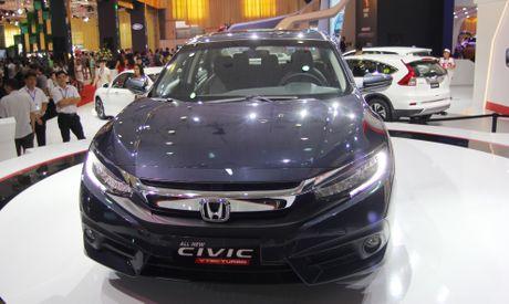 Anh thuc te Honda Civic the he moi dau tien o Viet Nam - Anh 1