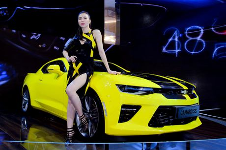 Dan chan dai tai Vietnam Motor Show 2016 - Anh 15