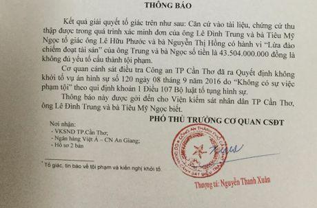 Khong khoi to vu 'bong dung mat 43 ty trong so tiet kiem' - Anh 1