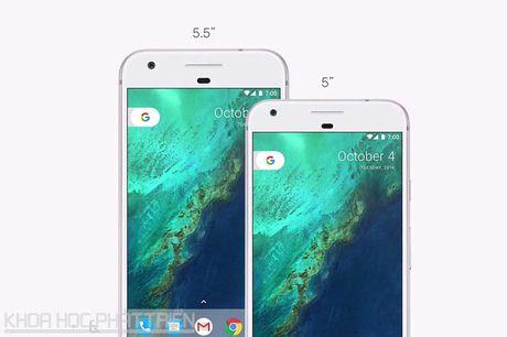 Google trinh lang Pixel va Pixel XL: Cau hinh 'khung', gia ngang iPhone 7 - Anh 4