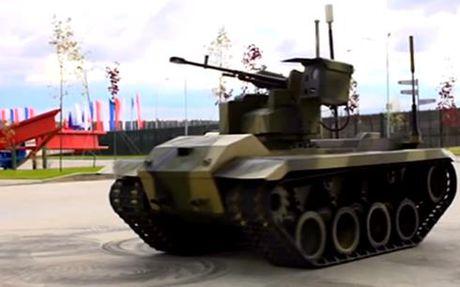 Kham pha xe tang robot cam tu cua Nga - Anh 1