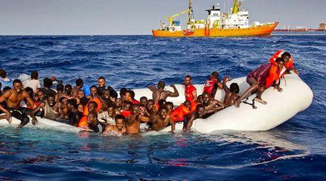 28 nguoi nhap cu thiet mang ngoai khoi Libya - Anh 1