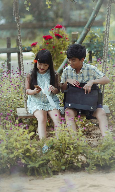 Cap doi 'ba-chau' Miu Le va Ngo Kien Huy tai ngo trong phim moi - Anh 2