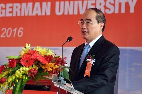 Khoi cong xay dung khuon vien Dai hoc Viet Duc tai Binh Duong - Anh 1