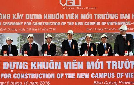 Khoi cong xay dung khuon vien Dai hoc Viet Duc tai Binh Duong - Anh 2