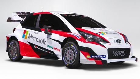 Toyota Yaris WRC 2017 tai suat sau 18 nam vang bong - Anh 1