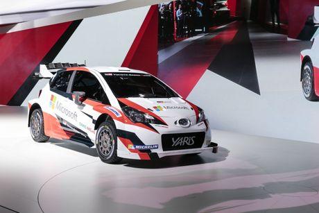 Toyota Yaris WRC 2017 tai suat sau 18 nam vang bong - Anh 2