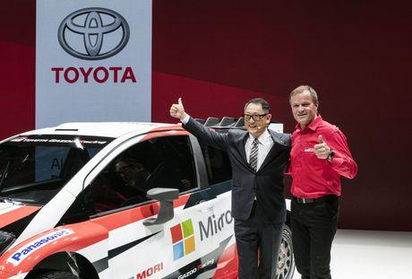 Toyota Yaris WRC 2017 tai suat sau 18 nam vang bong - Anh 3