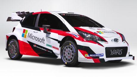 Toyota Yaris WRC 2017 tai suat sau 18 nam vang bong - Anh 5