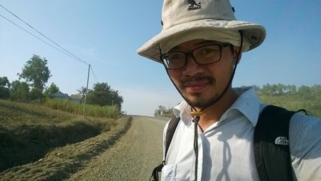 Nguyen Quang Thach: 'Chi can 1 tin nhan, nha bao Le Binh giup ngay' - Anh 1